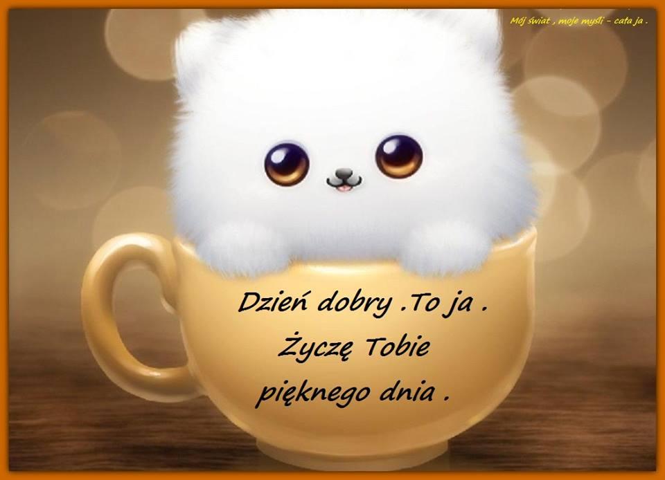 Dzień dobry. To ja. Życzę tobie...