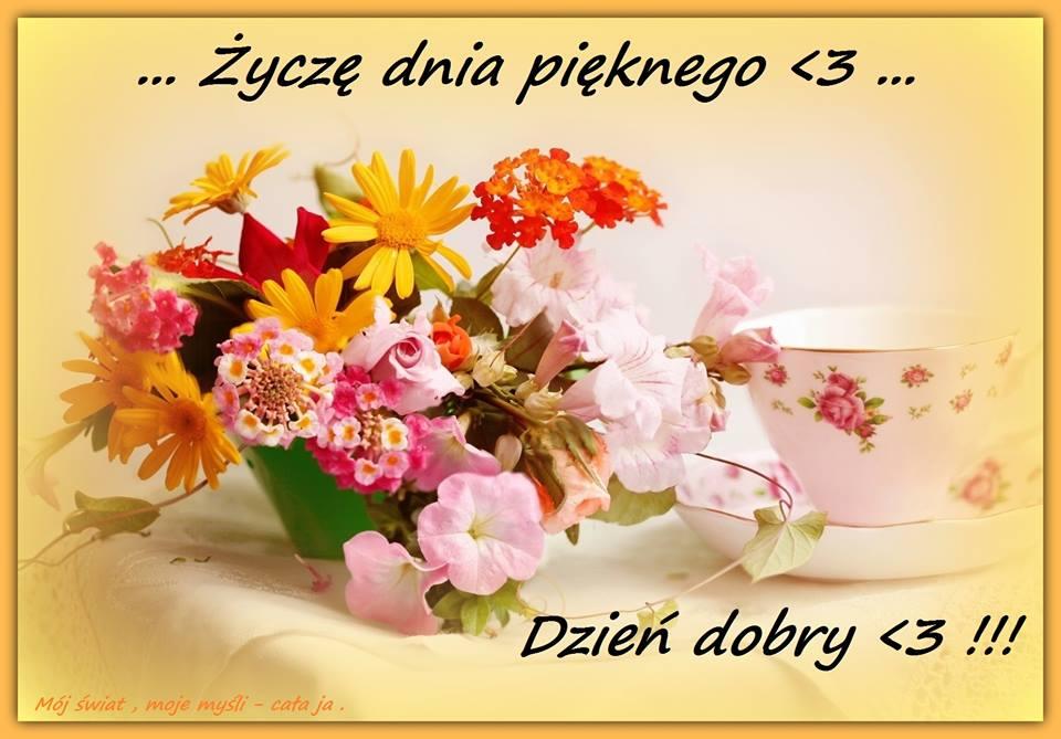 Życzę dnia pięknego... Dzień dobry!