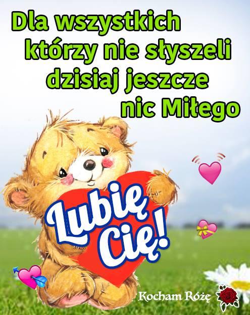 Lubię Cię!