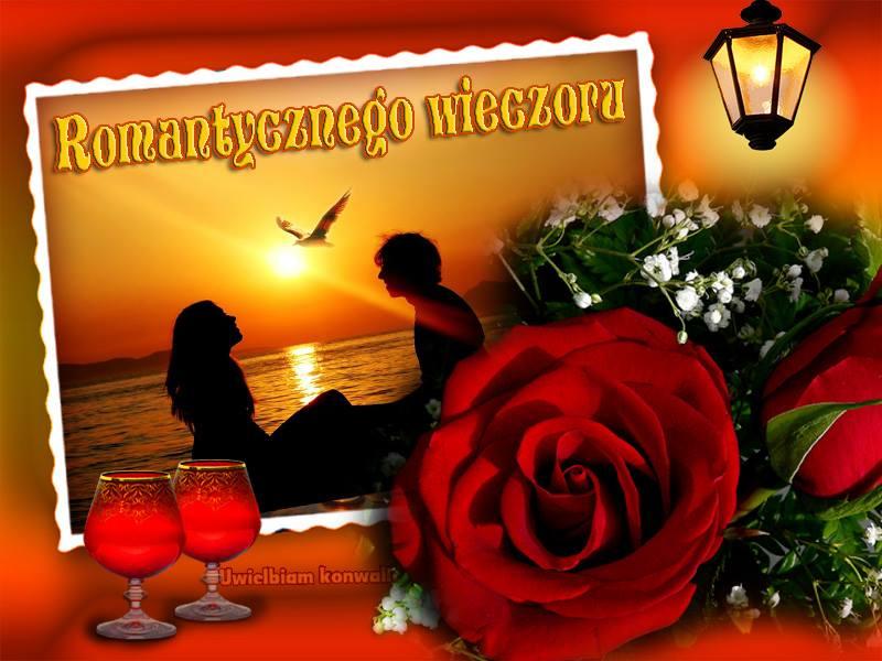 Romantycznego wieczoru