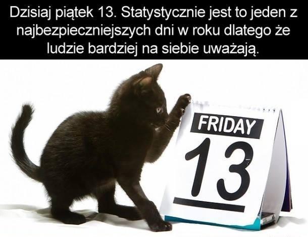 Dzisiaj piątek 13